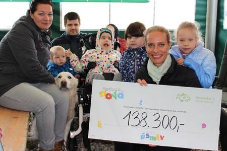 Nadace Nova a Shoemaker's Charity Carp Cup pomohli nemocné Kačence!
