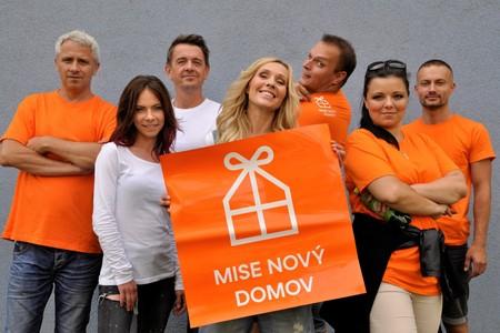 Nadace Nova ve spolupráci s M&M reality pomáhá rodinám z pořadu Mise nový domov