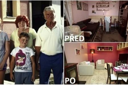 Rodina Čermákových ze srdce děkuje divákům televize Nova, Nadaci Nova a M&M reality