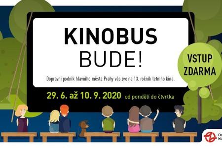 I letos vyrazí Kinobus do pražských ulic a bude pomáhat malé Elišce!