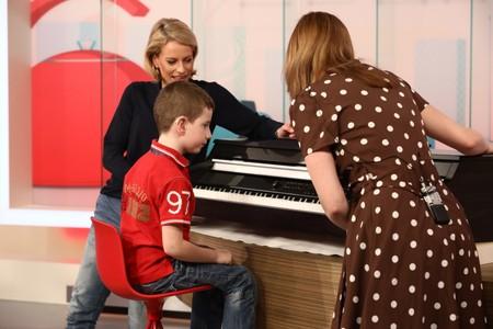 Ondřej má těžkou sluchovou vadu, a přesto hraje na klavír!