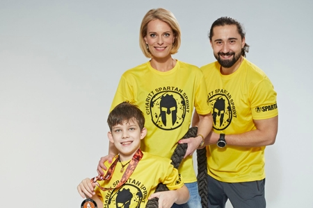 Spartan Race a Nadace Nova pomůžou nemocným dětem