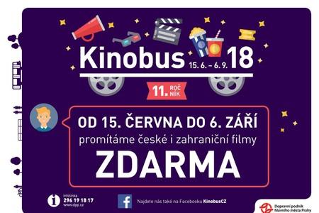 Užijte si léto s Kinobusem a Nadací Nova: : Čeká vás 48 skvělých filmů zdarma!