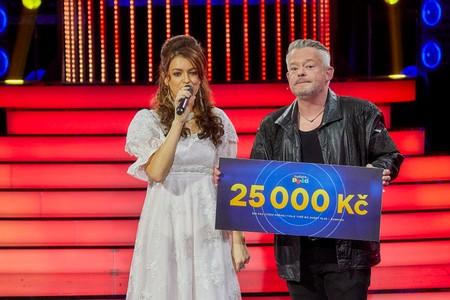 Druhé vítězství v show Tvoje tvář má známý hlas Šampioni. Co Jitku Boho dojalo k slzám!