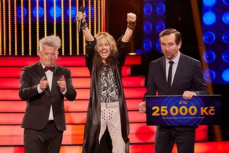 Vítězkou pátého kola show Tvoje tvář má známý hlas Šampioni se stala Hana Holišová