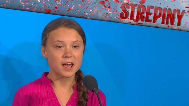 Střepiny - Jak se opovažujete? Greta se pustila do Trumpa a uhranula celý svět
