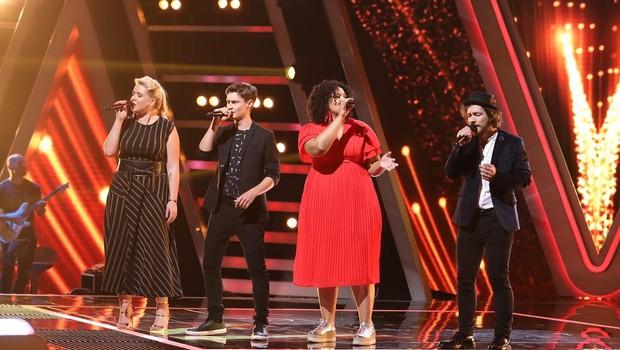 Společný song finalistů – Coldplay : Fix You