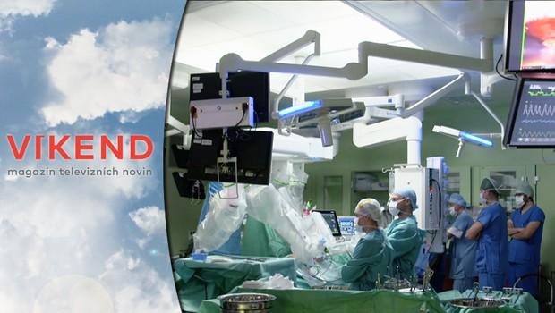 Kardiochirurgie se změnila k nepoznání. Jak probíhají robotické operace?