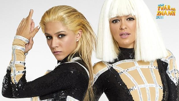 Eva Burešová jako Iggy Azalea and Rita Ora - Black Widow