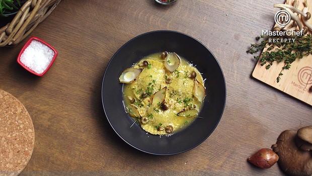 Ravioli s houbami od Ester Vosátkové