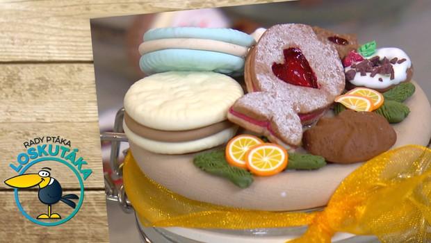 Sladké umění: Cukroví z polymerové hmoty je k nerozeznání od originálu