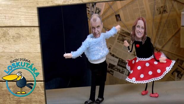 Zahrajte dětem veselé loutkové představení! Marionety snadno vyrobíte podle návodu