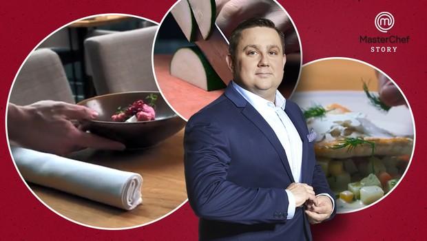MasterChef Story 1: První jídlo šlo do záchodu, říká hvězda české kuchyně Jan Punčochář