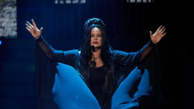 Jitka Čvančarová jako Madonna - Frozen