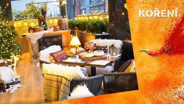 Vánoční hosté si mohou užít pobyt na luxusních terasách! Jak vypadá tříchodové menu?