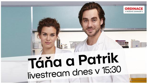 Livestream s Markétou a Patrikem Děrgelovými. Prozradili, co  je v Ordinaci čeká!