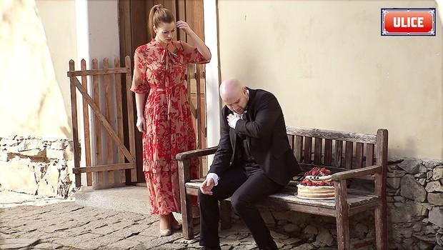 Náročné natáčení svatby Roziny a Victora. Co bylo za trest?