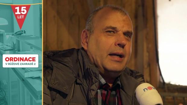 Nehoda při natáčení Ordinace: Petr Rychlý zavzpomínal na hodně drsnou příhodu