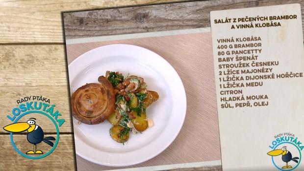 Rady ptáka Loskutáka - Salát z pečených brambor