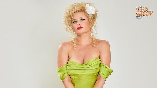 Erika Stárková jako Christina Aguilera - Bound To You