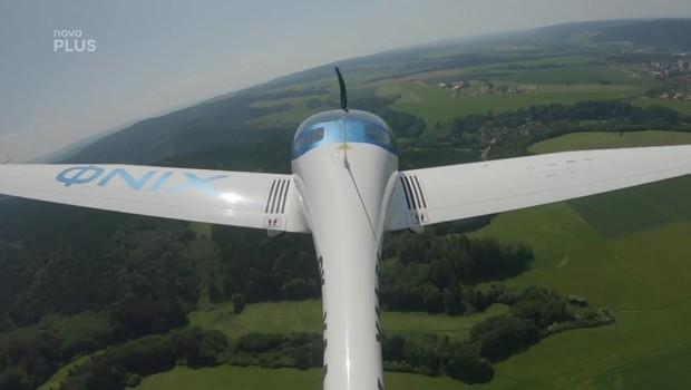 Víkend - Elektrické letadlo