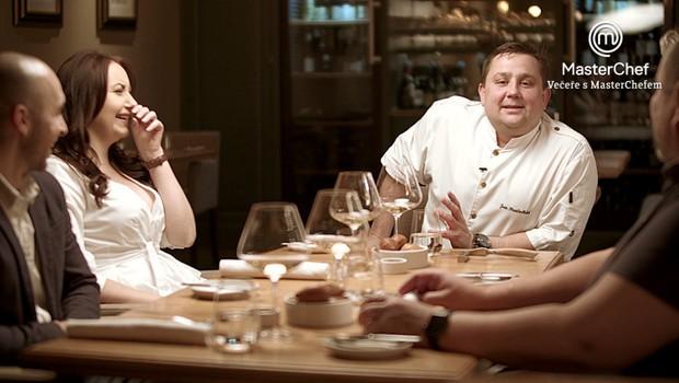 Večeře s MasterChefem 1. díl: Restaurace Grand Cru, Jan Punčochář