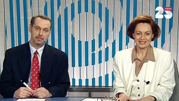 První Televizní noviny - 4. 2. 1994