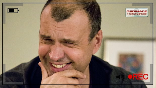 Zkažená klapka z Ordinace: Petr Rychlý se odbourá smíchy