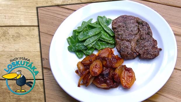 Rady ptáka Loskutáka - Hovězí steak