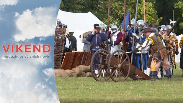 Uplynulo přesně 400 let od bitvy na Bílé hoře! Podívejte se na rekonstrukci boje