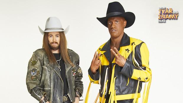 Robert Urban a Zuzana Norisová jako Billy Ray Cyrus a Lil Nas X – Old Town Road