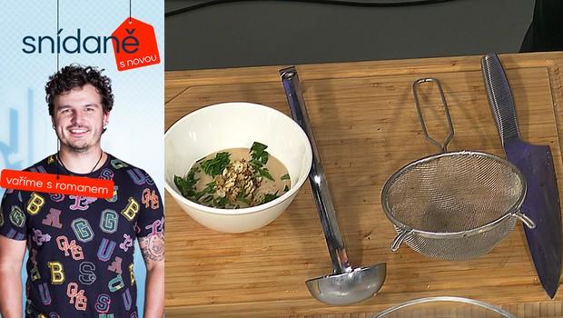Vaříme s Romanem: Jak připravit květákovou polévku s kokosovým mlékem?