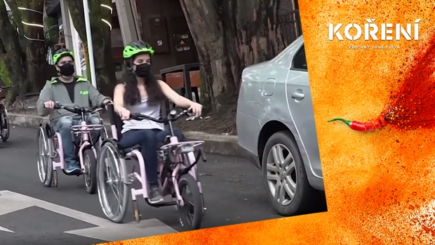 Alternativa pro vozíčkáře. Speciální elektrokolo jim umožní poznávat krásy města!