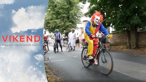 Originální cyklistický závod: Kdo dojede nejdále bez šlapání?