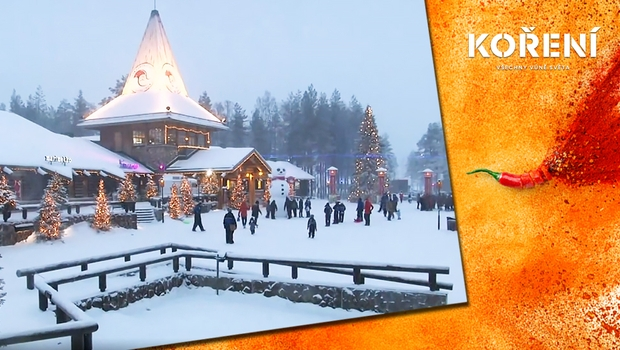 Nalaďte se na vánoční atmosféru! Podívejte se do Santovy malebné vesničky