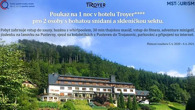 Kdo vyhrál s pořadem Loskuták na výletě noc v úchvatném hotelu v Beskydech?