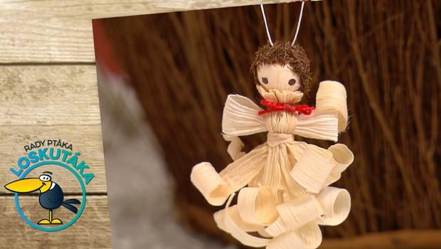 Tradiční výroba: Jak udělat půvabného andělíčka z kukuřičného šustí?