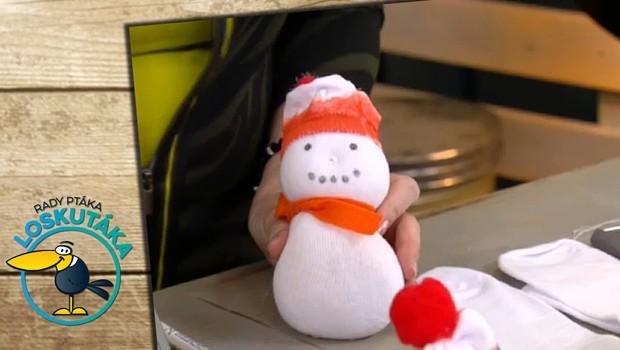 Jak postavit sněhuláka bez sněhu? Jednoduše ho nahraďte něčím jiným!