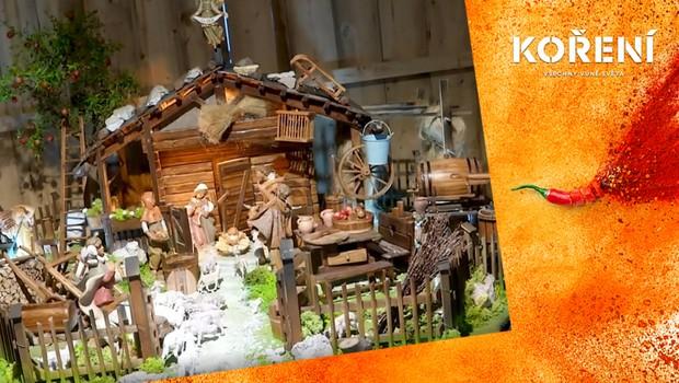 Zažijte kouzelnou vánoční atmosféru. Podívejte se na výstavu betlémů ve Vatikánu
