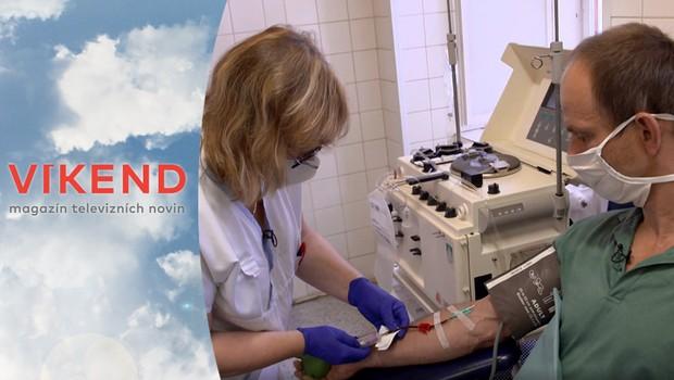 Hrdinský čin: Darování krevní plazmy pomáhá zachraňovat lidské životy!