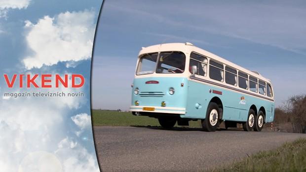 Splněný sen: Horský autobus Tatra je jediným exemplářem svého druhu na světě!
