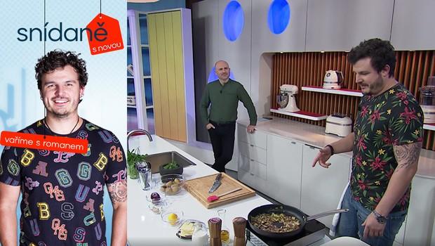 Díky MasterChefovi rozumí chutím. Tyto rady Romana vás naučí vařit jinak!