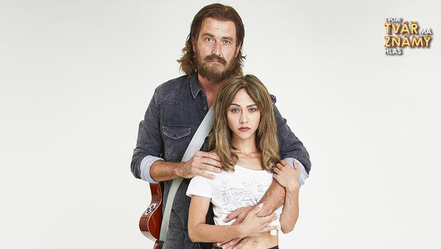 Roman Zach a Eva Burešová jako Bradley Cooper a Lady Gaga - Shallow