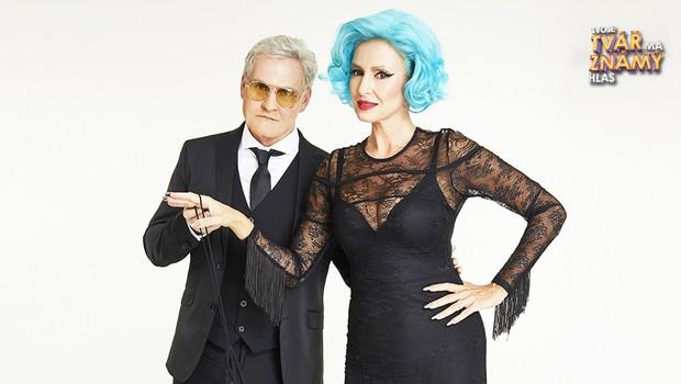 Ján Jackuliak a Kateřina Brožová jako Tony Bennett a Lady Gaga – The Lady is a Tramp