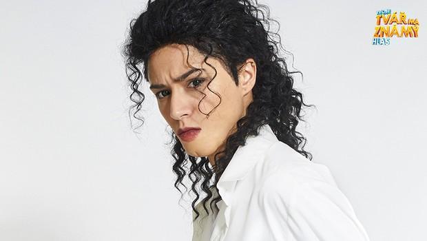 Eva Burešová jako Michal Jackson - Dirty Diana