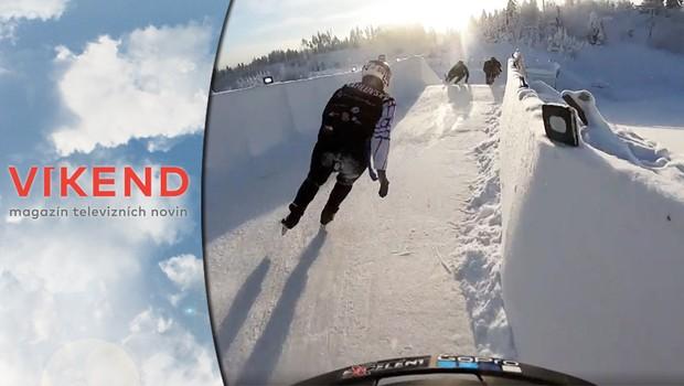 Ice cross: Adrenalinový sport zažívá v Česku raketový nástup!