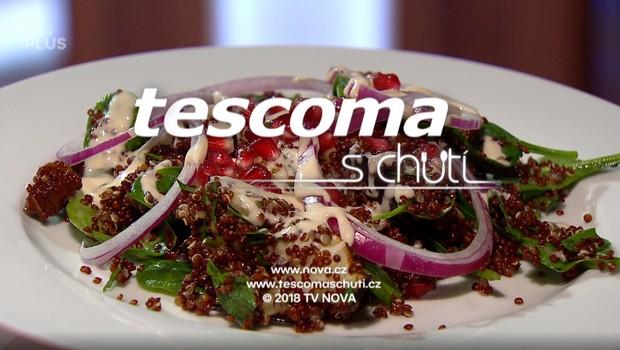 Quinoový salát s grilovaným lilkem - 22. 06. 2020