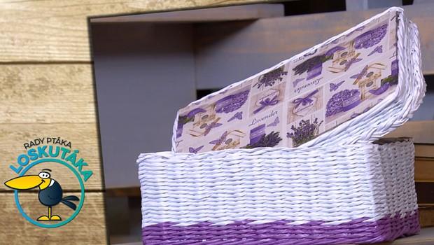 Rady ptáka Loskutáka - Papírové pletení