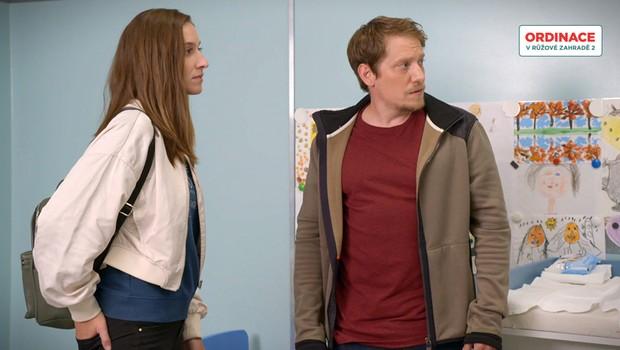 Spor mezi Markem a Erikou: Kdo může za to, že Tobiáš onemocněl?