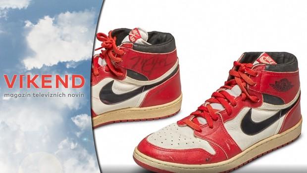 Nejdražší sportovní obuv: Kolik zaplatil kupec za tenisky Michaela Jordana?